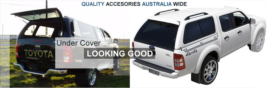 Canopies for Ford Ranger XLT and Toyota Hilux SR5 Canopies