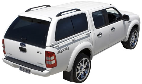 Ford XL Canopy (White)